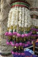 Reiskränze Kunst und Tanz von Thailand.