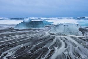 Jokulsarlon Eisstrand in Island