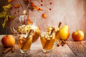 Herbst Sangria foto