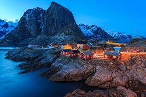 reine, lofoten, norwegen foto