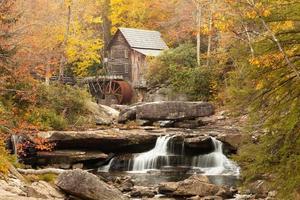 Landschrotmühle im Herbst