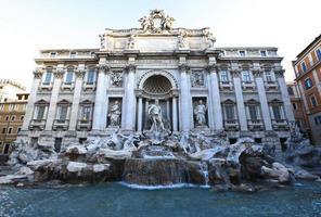 Trevi-Brunnen in Rom.