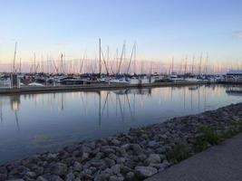 Boote in der Marina foto