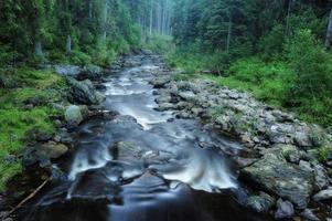 Blanice Fluss in Böhmen foto