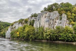 die felsigen Ufer der Donau, Deutschland