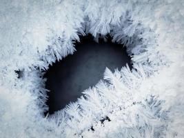 Eis und Schnee foto