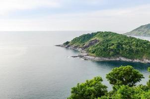 Luftaufnahme auf der Insel Phuket foto