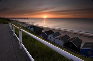 Southwold Sonnenaufgang foto