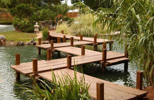 japanischer Spaziergang Garten