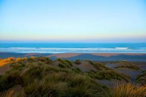 Blick auf den Strand foto