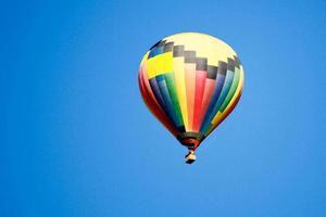 Heißluftballonfahrt foto