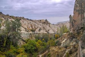 Luftansicht von Kappadokien, Truthahn foto