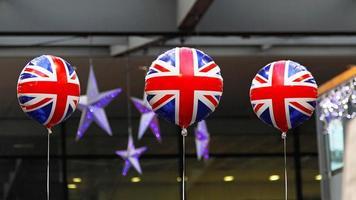 britische Luftballons foto