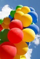 bunte Luftballons foto