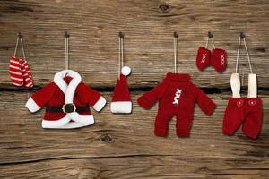 Weihnachtsmann Kleidung foto