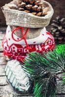 Weihnachtstasche foto