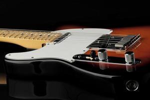 linkshändige E-Gitarre foto
