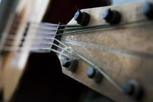 alte mexikanische Gitarre foto
