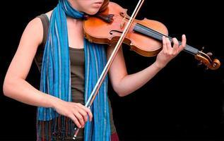 Violine spielen foto