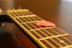 Gitarrengriffbrett foto