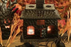 gruselige Halloween-Dekorationen foto