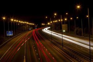 Lichtspuren foto