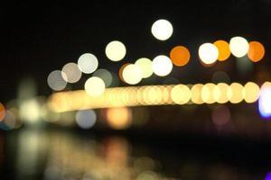 defokussierte Lichter, Ampeln
