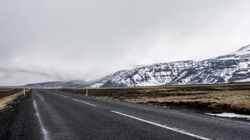 Straßenrand in Island