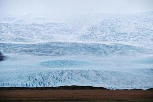 massiver isländischer Gletscher