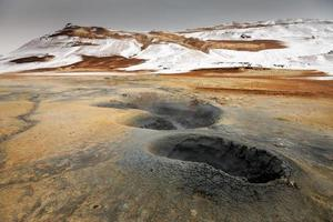 námaskarð geothermisches aktives Vulkangebiet im Nordwesten Icelans