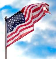 Flagge USA foto