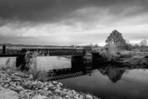 Eisenbahnbrücke foto