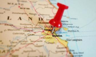 Dublin Karte