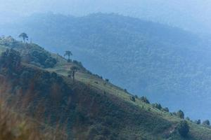 Landschaft bei Kew Mae Pan, Thailand foto