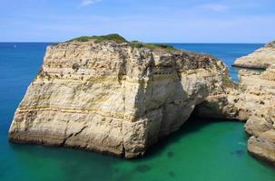 Küste von Farol de Alfanzina