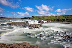 urridafoss Wasserfall in Island foto