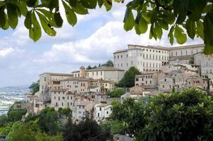 Blick von der Stadt Orvieto