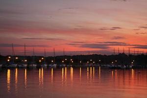 Hafen in Gizicko. Polen foto