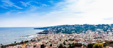 herrliche Aussicht auf Neapel.