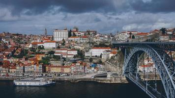 Ansicht oder Ribeira in Porto