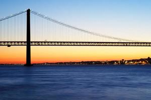 25. April Brücke in Lissabon