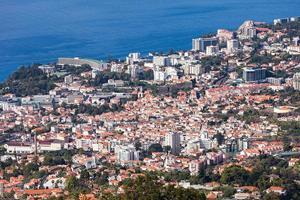 Funchal Luftaufnahme, Madeira