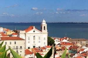 Kirche igreja de santo estevao in Lissabon