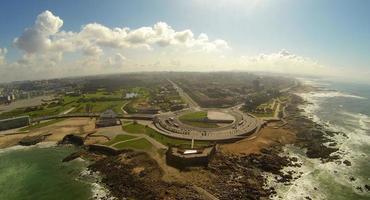 Queijo Schloss und Küste von Porto