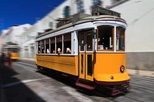 Geschwindigkeits Straßenbahn