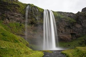 isländischer Wasserfall seljalandsfoss