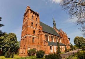 st. stanislaus kirche (1521) in swiecie stadt, polen