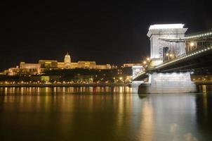 Budapester Burg und Kettenbrücke, Ungarn