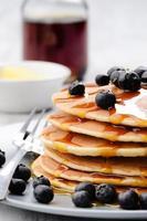 hausgemachte Pfannkuchen