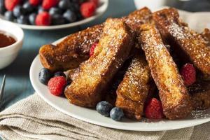 hausgemachte French Toast Sticks